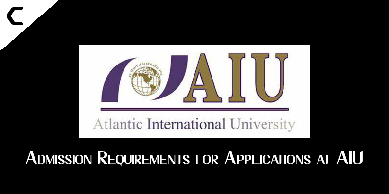 Admission Requirements for Applications at AIU