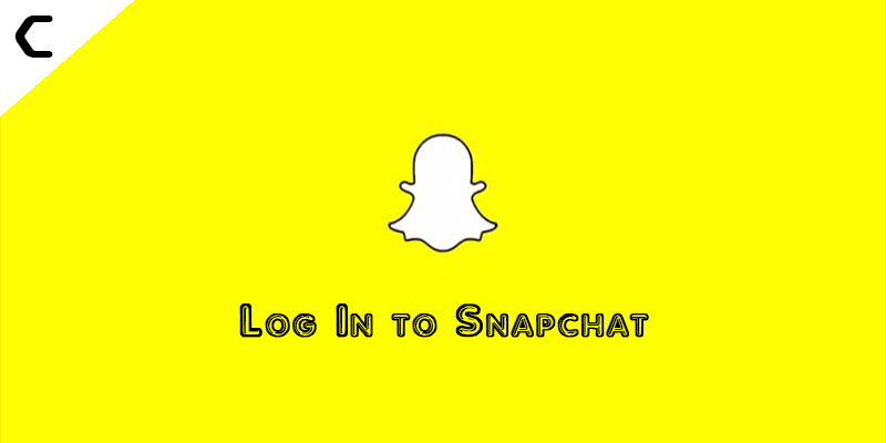 Log In to Snapchat