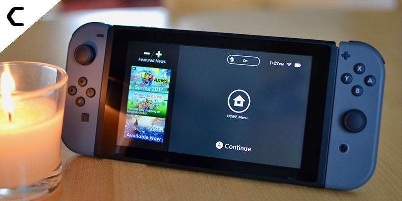 Why enable dark mode on Nintendo Switch?